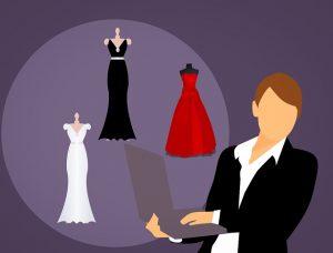 אתר למעצבת שמלות
